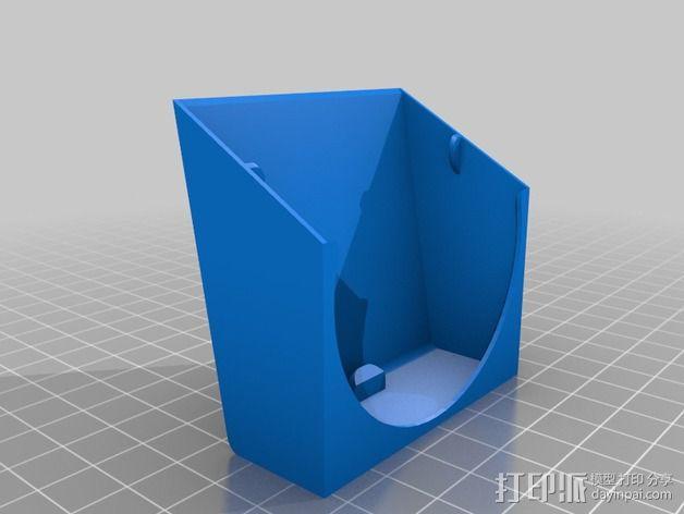 可扣接的风扇通风导管 3D模型  图2