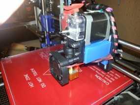 Prusa i3打印机的挤出机支架 3D模型