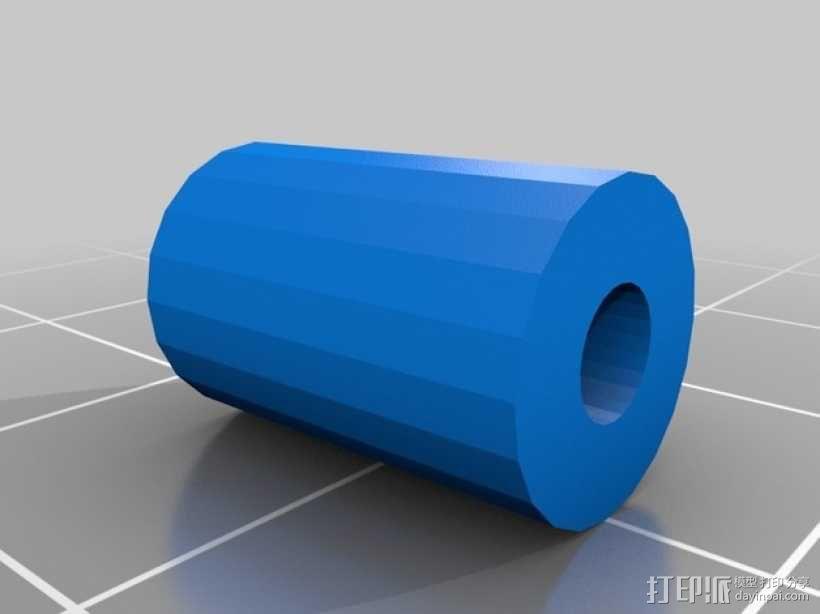 Prusa i3打印机的挤出机支架 3D模型  图4