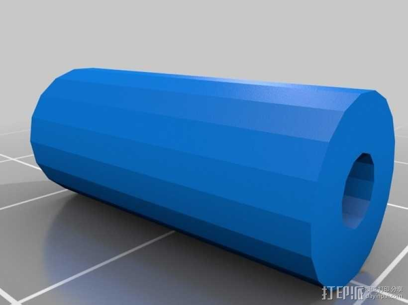 Prusa i3打印机的挤出机支架 3D模型  图3