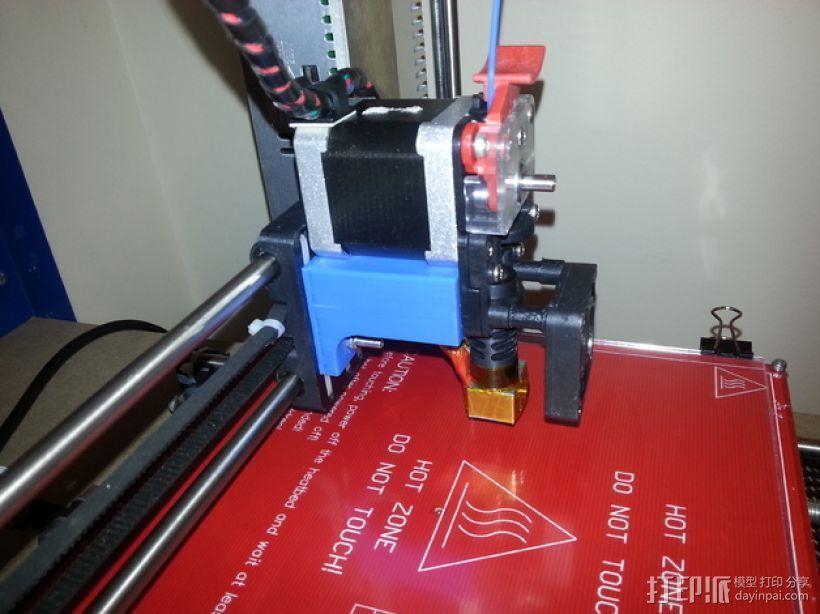 Prusa i3打印机的挤出机支架 3D模型  图6