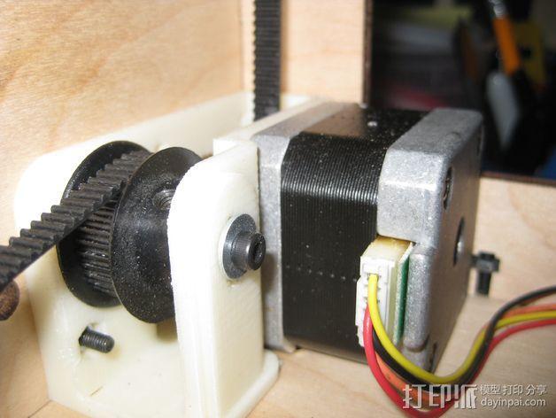自制打印机 3D模型  图9