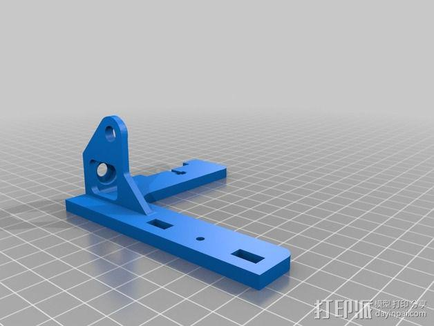 自制打印机 3D模型  图21