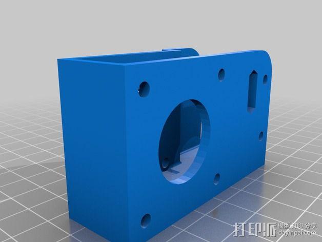 自制打印机 3D模型  图23