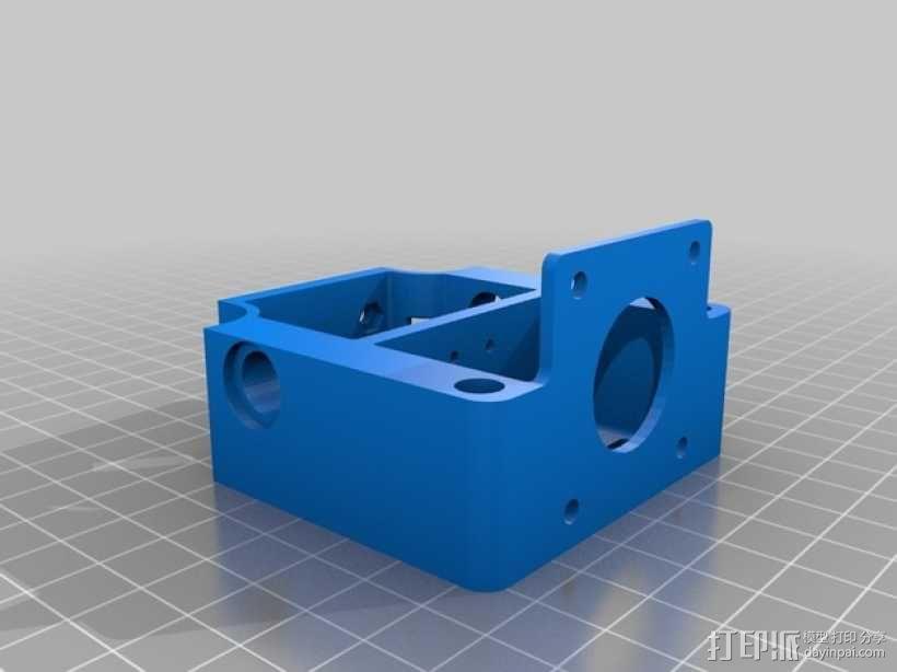 自制打印机 3D模型  图28