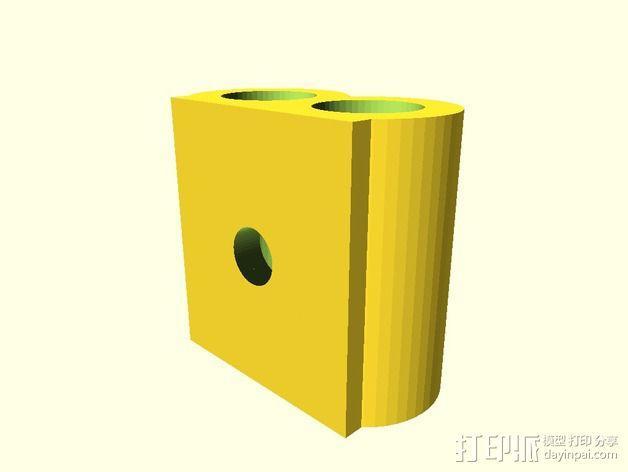 工具存放桶 3D模型  图2