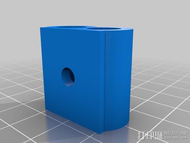 工具存放桶 3D模型  图3