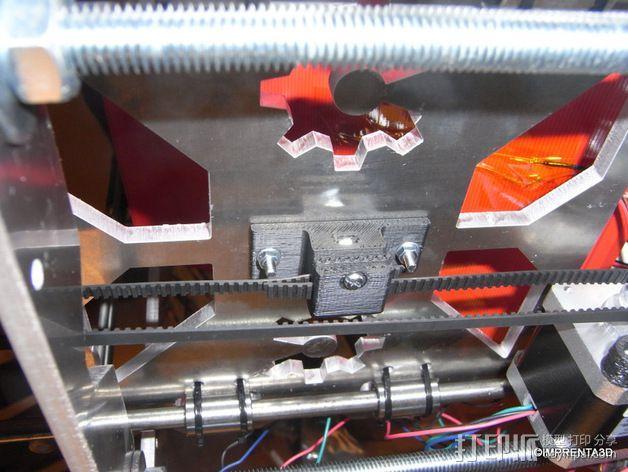T2.5 皮带夹 3D模型  图4