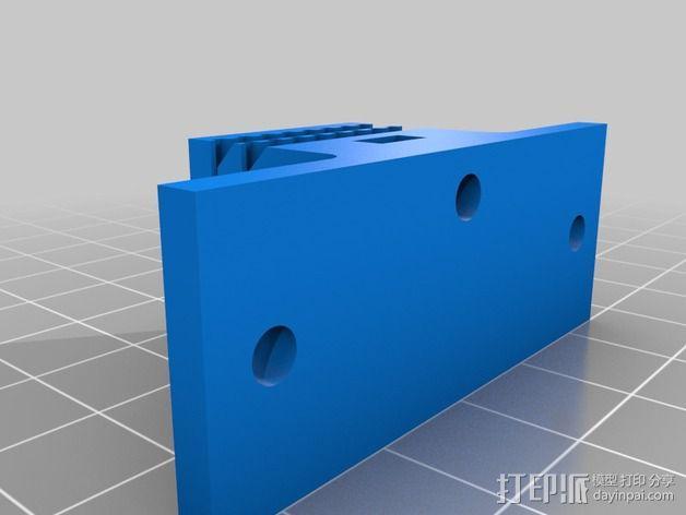 T2.5 皮带夹 3D模型  图2