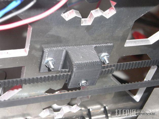 T2.5 皮带夹 3D模型  图3
