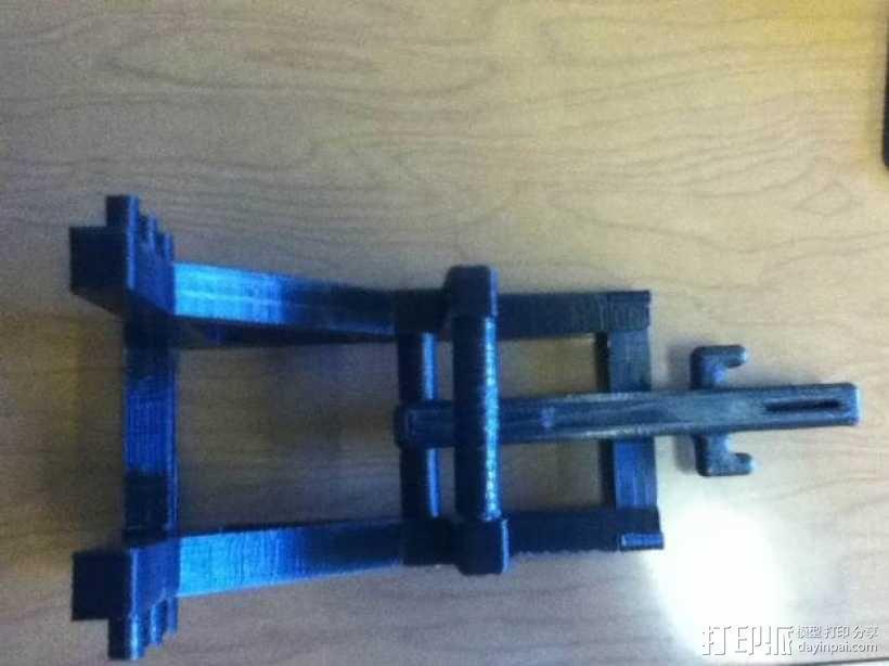 石弩 弹弓 3D模型  图11