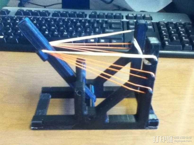 石弩 弹弓 3D模型  图10