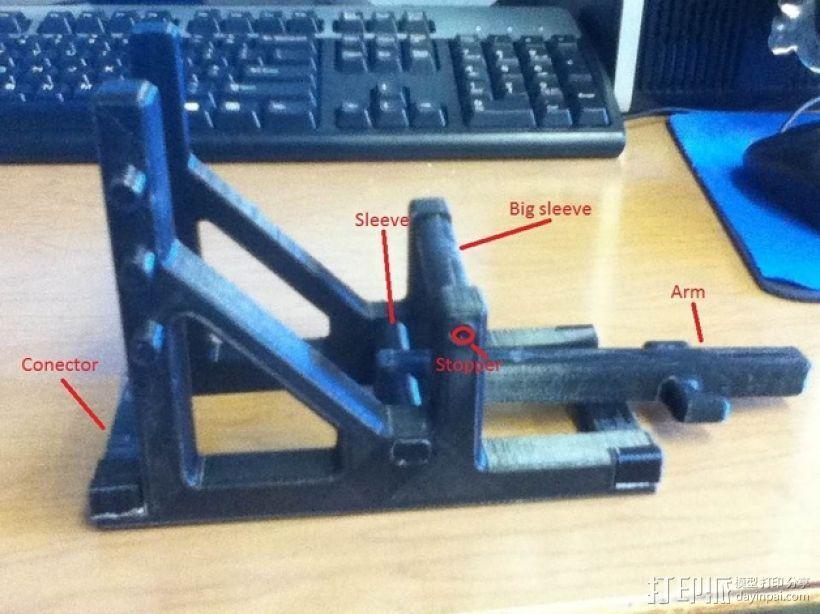 石弩 弹弓 3D模型  图14