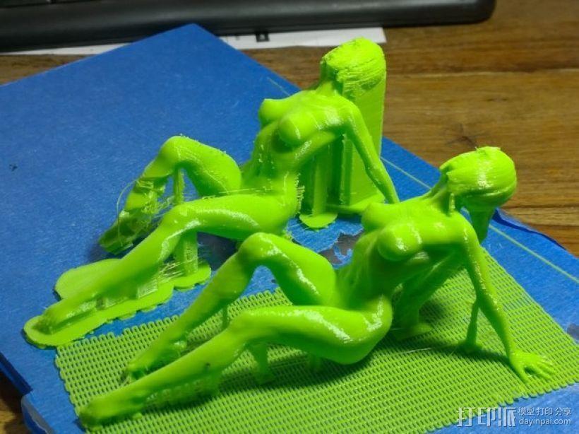 AV美女 3D模型  图4