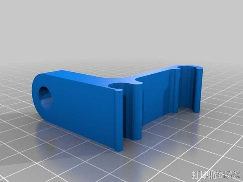 Prusa i3 打印机的刻度盘支架 3D模型  图1