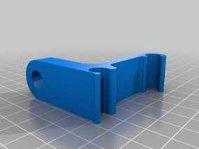 Prusa i3 打印机的刻度盘支架 3D模型