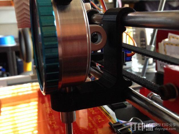 Prusa i3 打印机的刻度盘支架 3D模型  图3
