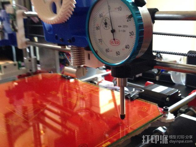 Prusa i3 打印机的刻度盘支架 3D模型  图4