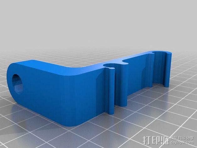 Prusa i3 打印机的刻度盘支架 3D模型  图2
