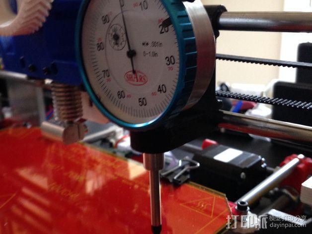 Prusa i3 打印机的刻度盘支架 3D模型  图5
