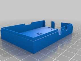 Raspberry Pi树莓派保护框 3D模型