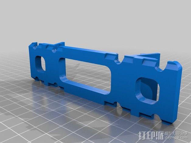 BCN3D+打印机的线轴支架 3D模型  图2