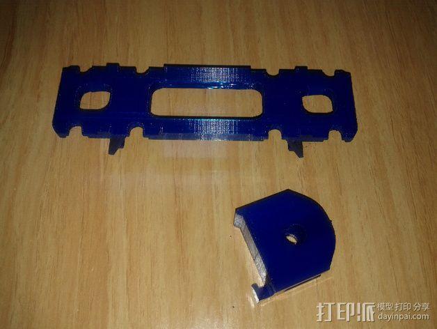 BCN3D+打印机的线轴支架 3D模型  图4