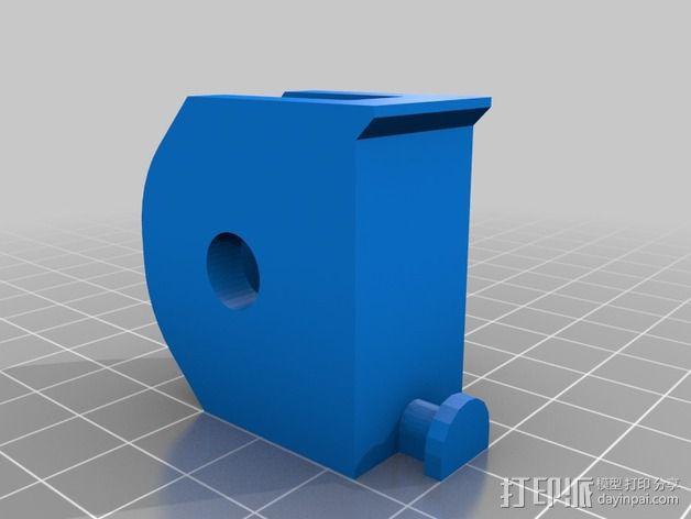 BCN3D+打印机的线轴支架 3D模型  图3