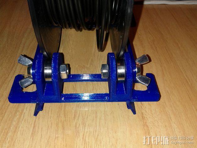 BCN3D+打印机的线轴支架 3D模型  图7