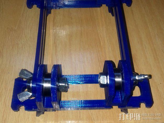 BCN3D+打印机的线轴支架 3D模型  图5