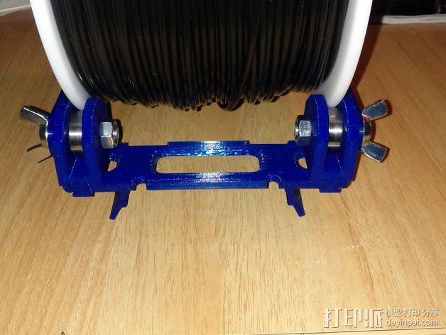 BCN3D+打印机的线轴支架 3D模型  图6