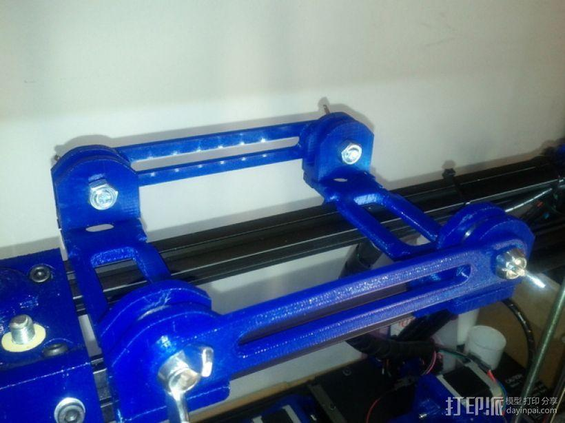 BCN3D+打印机的线轴支架 3D模型  图8