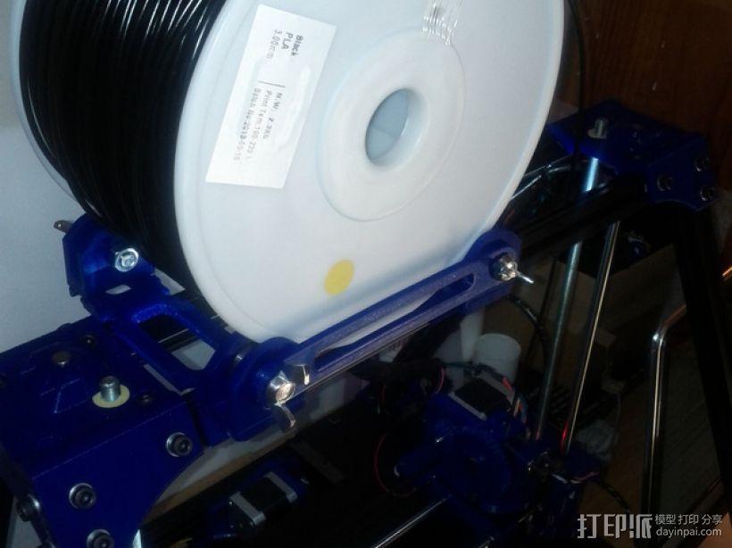 BCN3D+打印机的线轴支架 3D模型  图10
