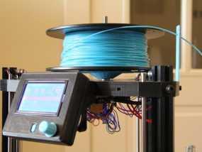 水平式线轴固定器· 3D模型