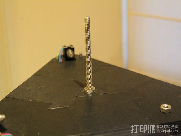 水平式线轴固定器· 3D模型  图5