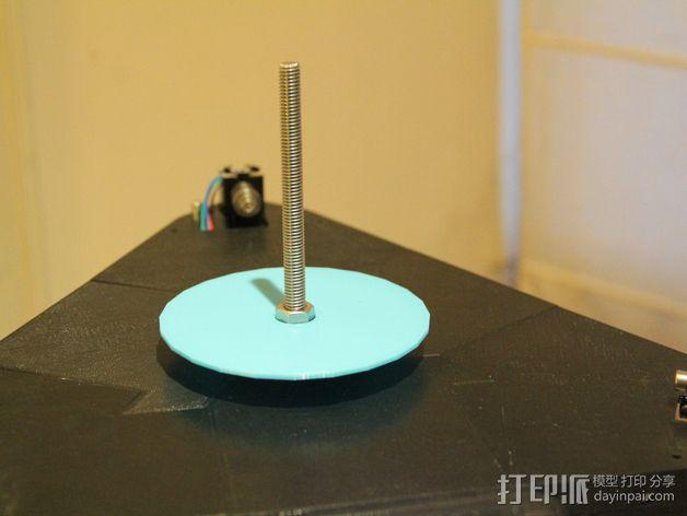 水平式线轴固定器· 3D模型  图6