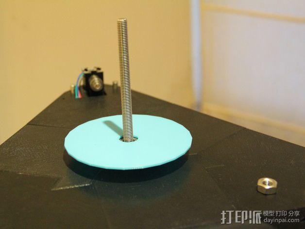 水平式线轴固定器· 3D模型  图7