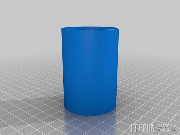 水平式线轴固定器· 3D模型  图11