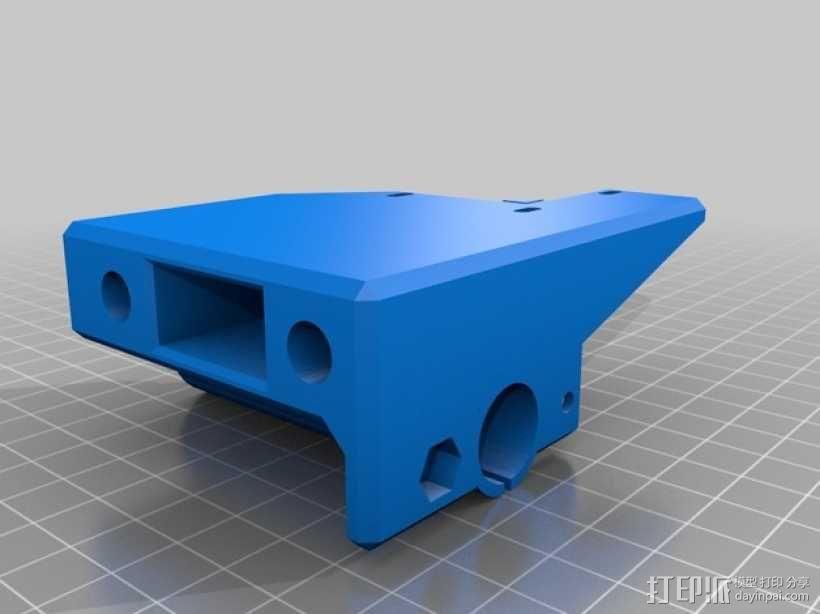 Prusa I3打印机的马达架 3D模型  图2
