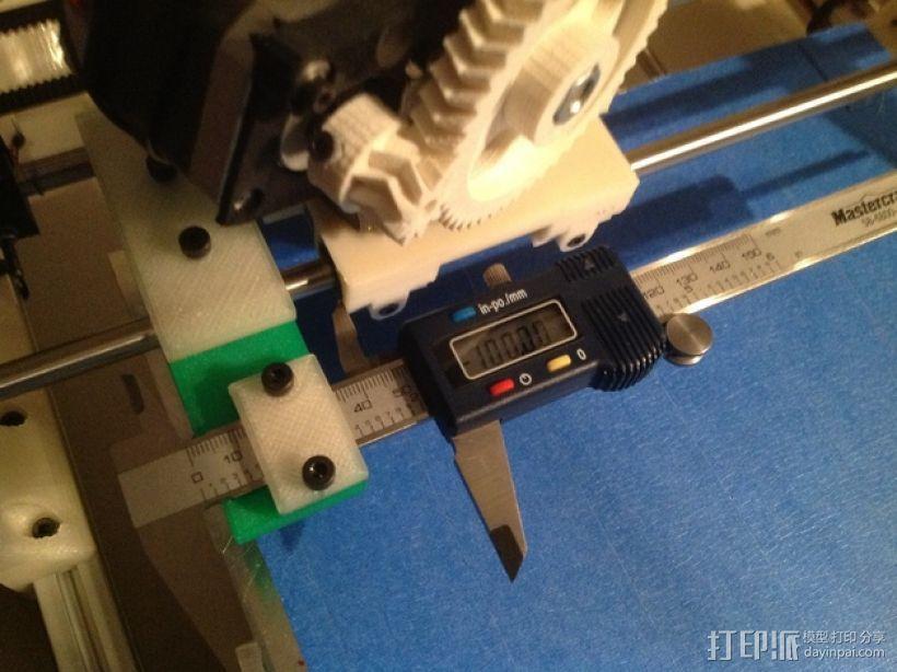 卡规/测径器支架 3D模型  图1