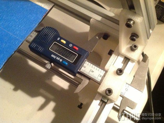 卡规/测径器支架 3D模型  图2