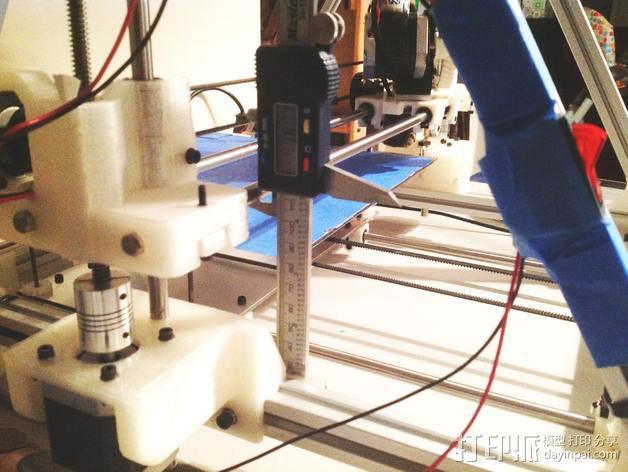 卡规/测径器支架 3D模型  图3
