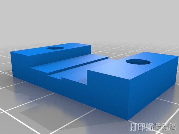 卡规/测径器支架 3D模型  图7