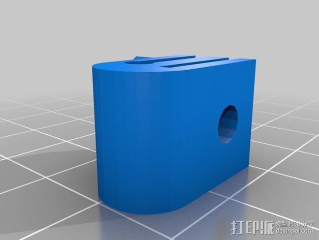 卡规/测径器支架 3D模型  图5