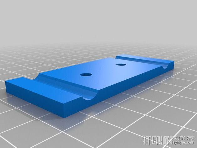 卡规/测径器支架 3D模型  图6