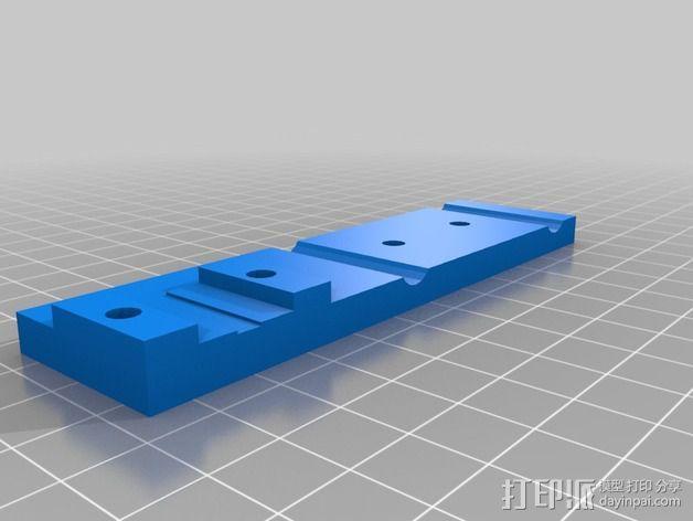 卡规/测径器支架 3D模型  图8