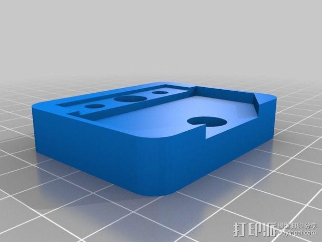 小刮刀刀柄 3D模型  图2