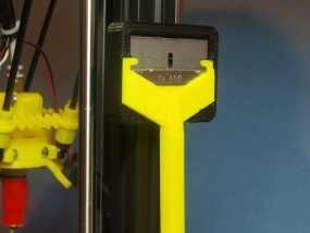 小刮刀刀柄 3D模型