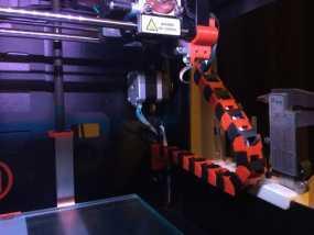 Replicator 2打印机的步进器/限位开关/锚链 3D模型