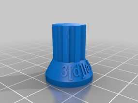 电位计按钮 3D模型